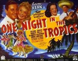 One Night in the Tropics Film One Night In The Tropics
